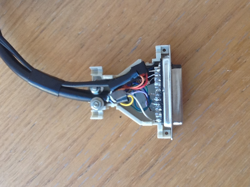 amiga rgb to scart cable